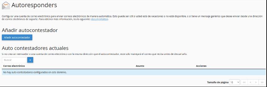 autorespondedor email por webmail